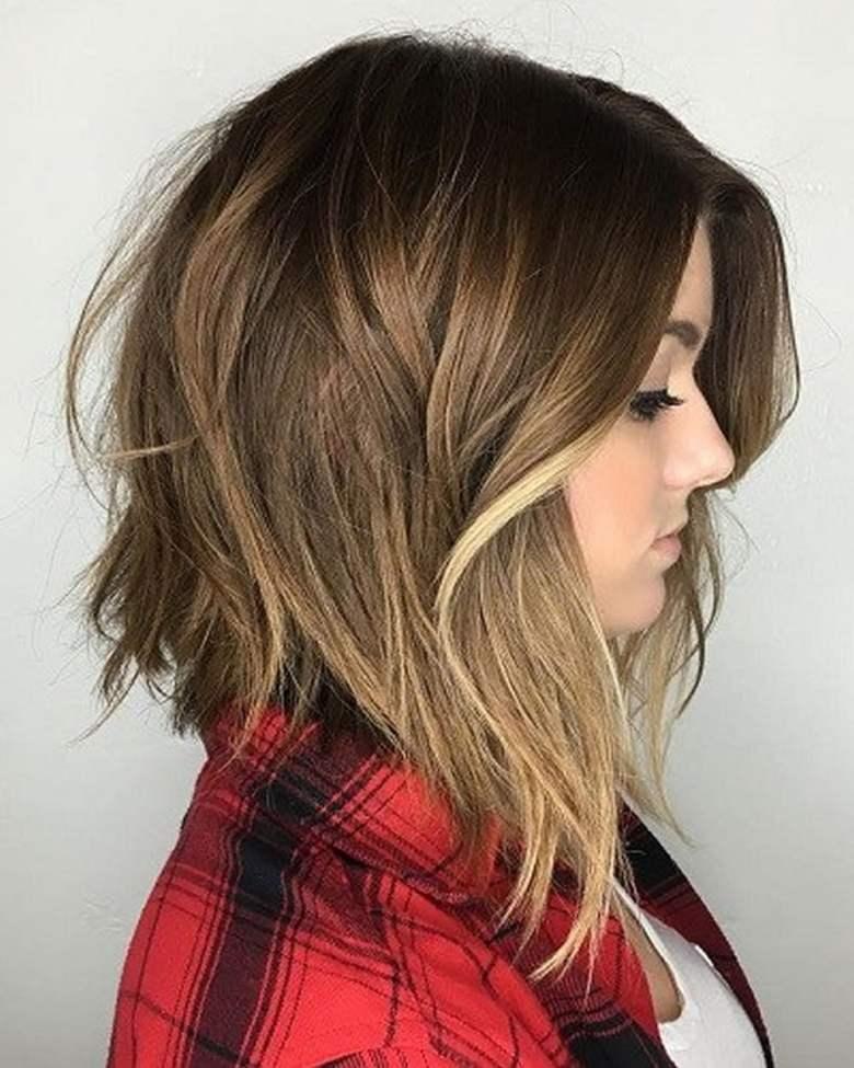 Long Angled Bob Haircut 2018 Anexa Beauty