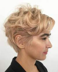 Curly Pixie Haircuts for 2018 & Pixie Short Hairstyle ...