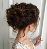 2018 Wedding Updo Hairstyles for Brides