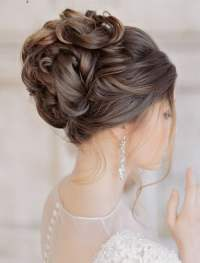 2018 Wedding Updo Hairstyles for Brides | Hair Colors for ...