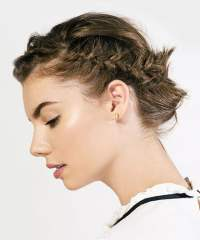 32 Best short hair braid for women with short haircut ...