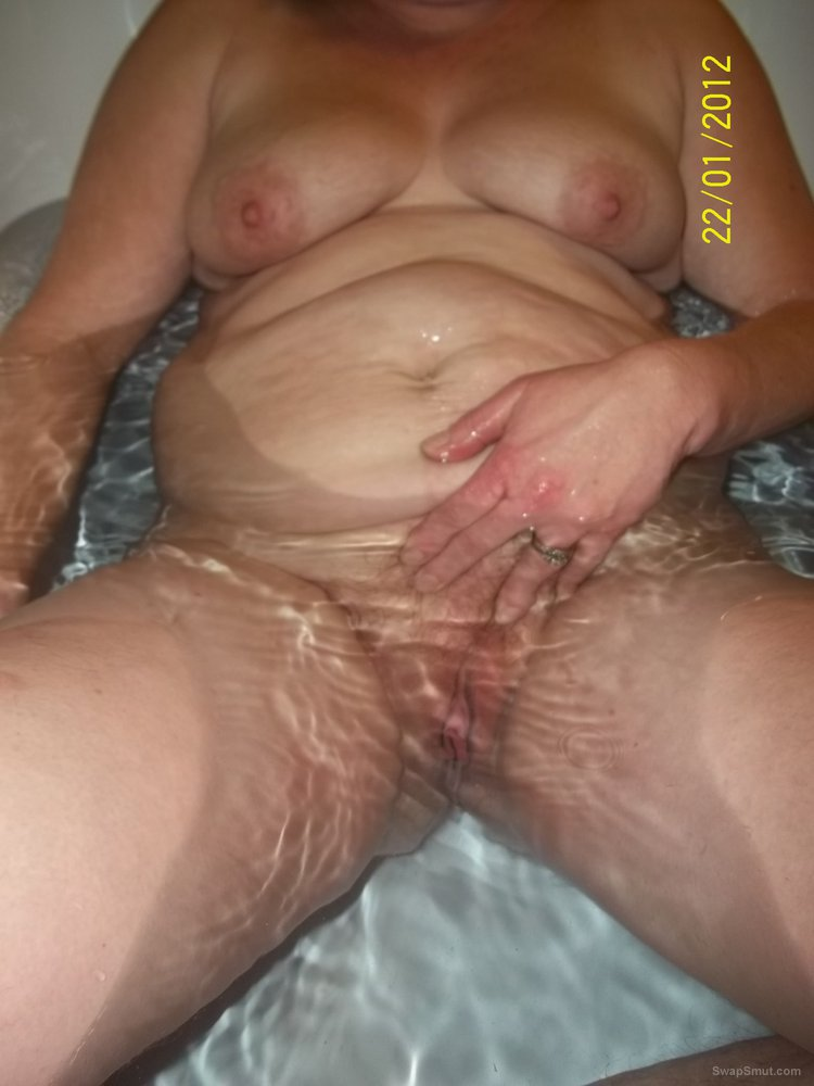 chubby hairy pussy laying down