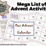 A Family Activity Christmas Countdown Calendar