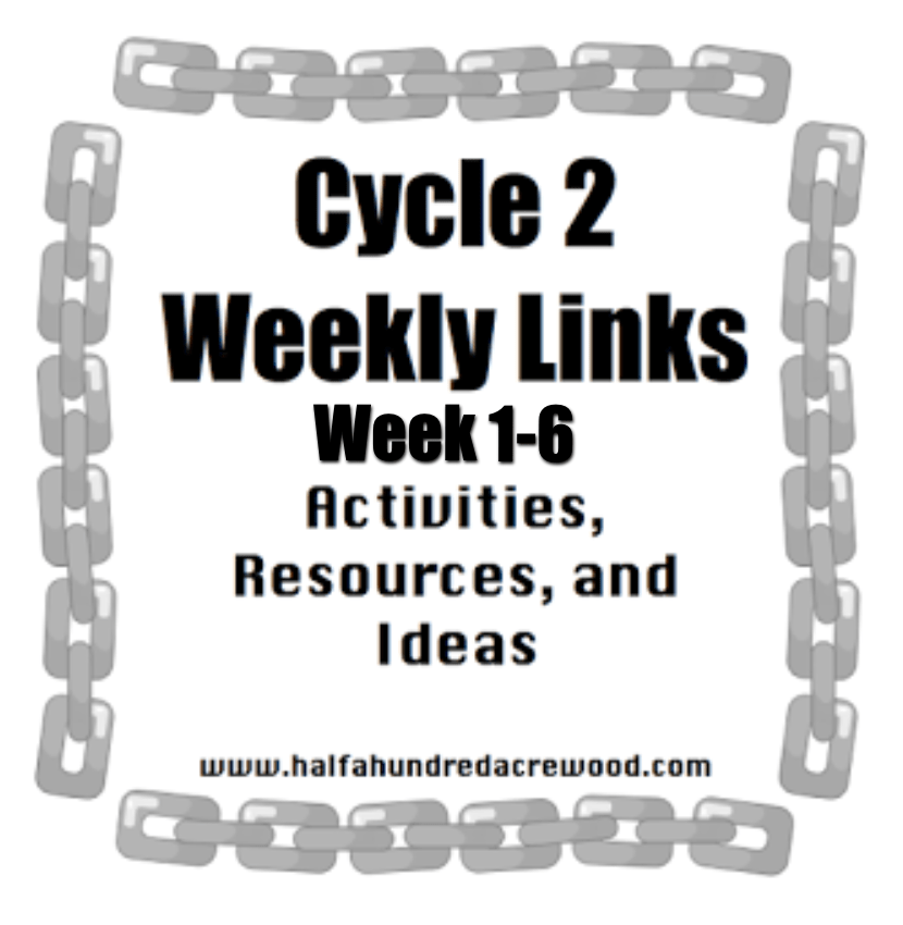 Cycle 2 Weekly Links: Weeks 1-6
