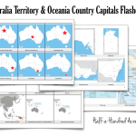 Australia & Oceania Countries Capitals Flashcards