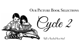 CC Cycle 2 Picture Books Selections