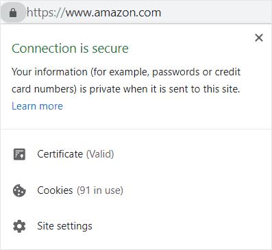 Amazon SSL