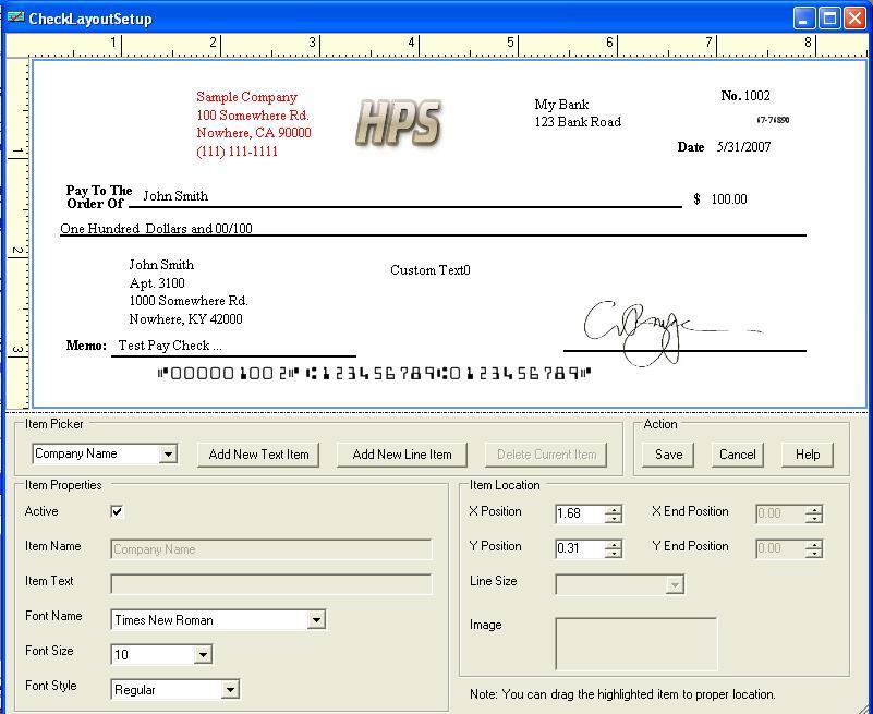business check template - business check template