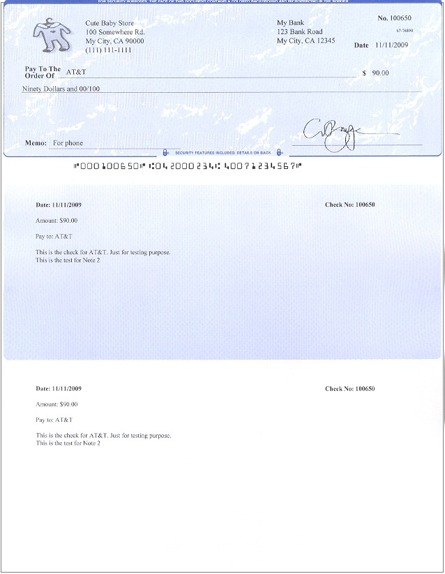 Easy-to-Use Check Writing and Printing Software Free Offer Available - printing paper template