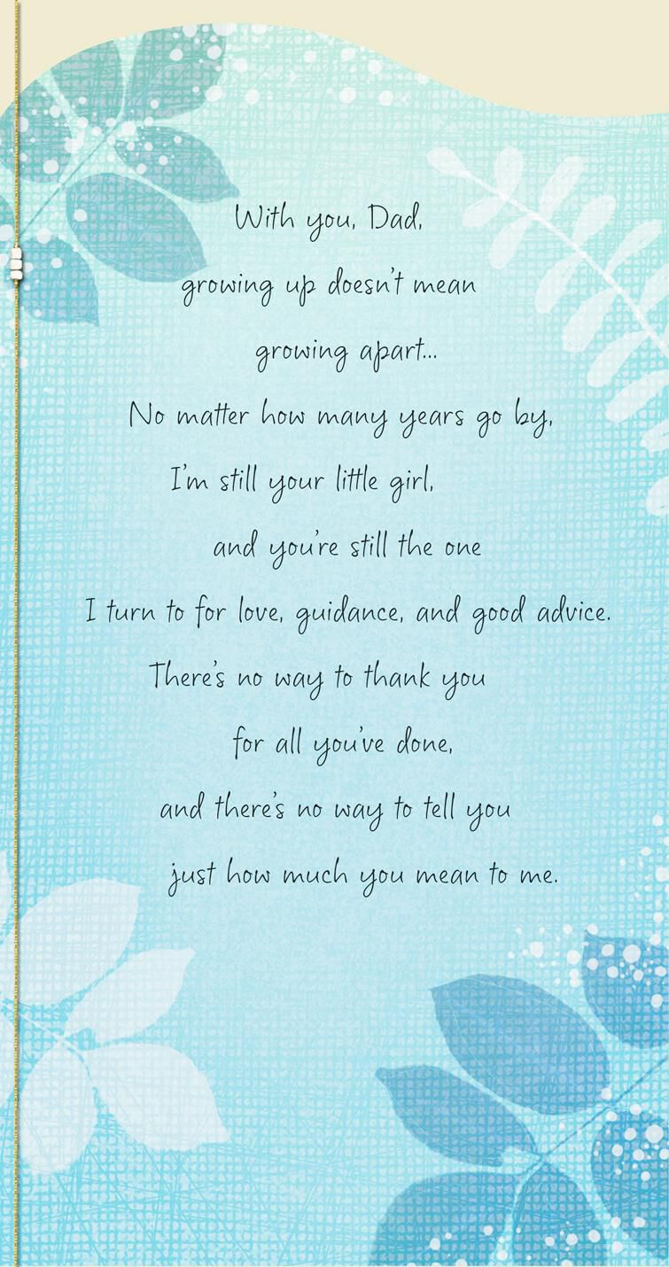 You\u0027re Still the One Father\u0027s Day Card From Daughter - Greeting