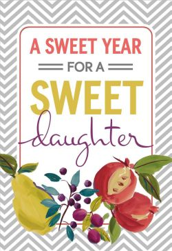 Fun To A Year Rosh Hashanah Card Daughter Greeting Rosh Hashanah Cards To Make Rosh Hashanah Cards To Print Daughter Greeting Cards To A Year Rosh Hashanah Card