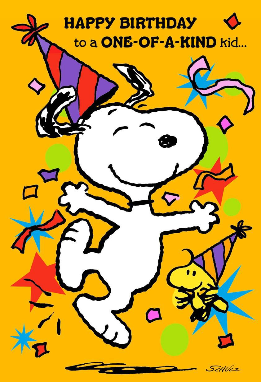 Free Snoopy Fall Wallpaper Peanuts 174 Snoopy And Woodstock Best Kind Of Kid Birthday