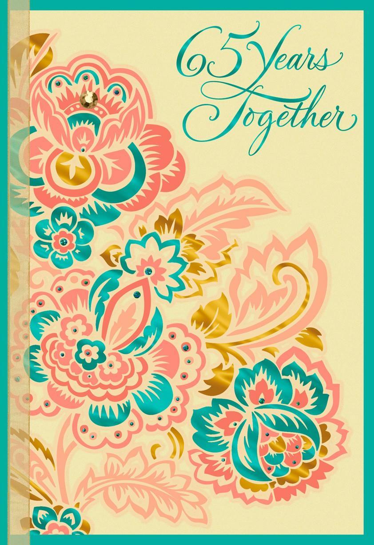 Invigorating Parents Anniversary Card Ideas Him Multicolor Flowers Anniversary Card Multicolor Flowers Anniversary Card Greeting Cards Hallmark Anniversary Card Ideas ideas Anniversary Card Ideas