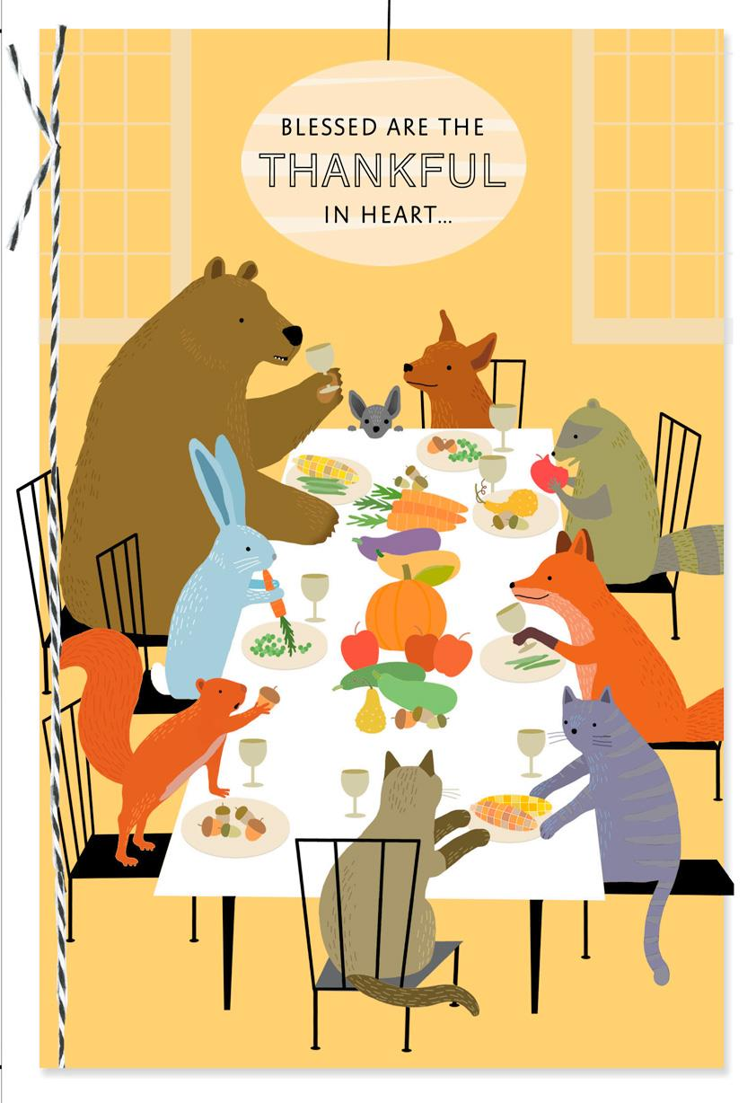 how to make a thanksgiving cards