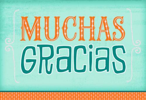 Medium Of Spanish For Thank You