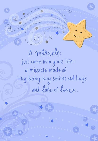 baby boy congrats cards