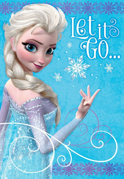 Happy Bday Wallpaper With Quotes Frozen Elsa Let It Go Birthday Card Greeting Cards