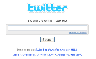 Search Twitter