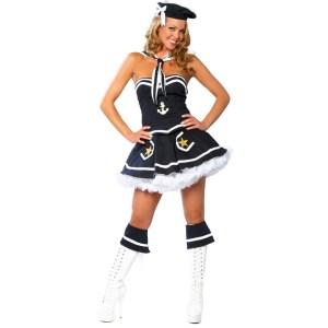 2pc Naughty Navy Yard Vixen Costume