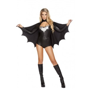 3pc Sexy Night Vigilante Costume