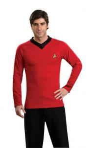 Adult Red Star Trek Costume