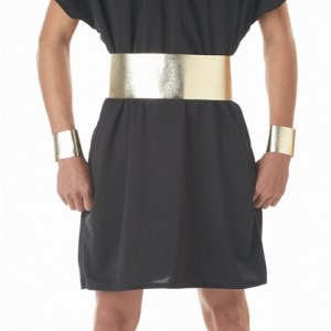 Black King Pharaoh Adult Mens Costume