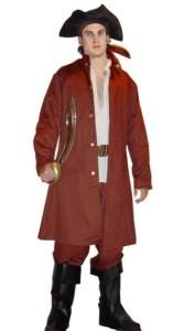Buccaneer Pirate Men Costume