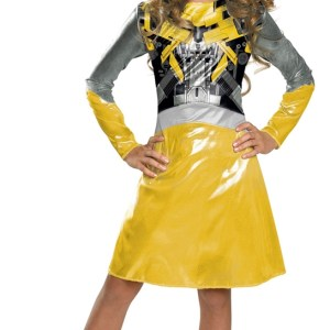 Bumblebee Classic Girls Costume