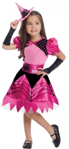 Girl's Barbie Witch Costume