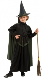 Girl's Wicked Witch Costume