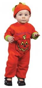 Infant Pumpkin Jumpsuit