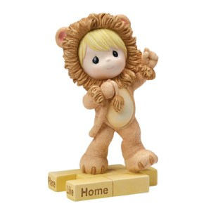 """There Is No Place Like Home"" Lion Figurine"