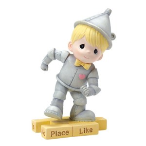 """There Is No Place Like Home"" Tin Man Figurine"