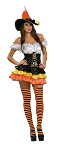 Women's Candy Corn Costume