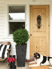 How to Refinish a Wood Exterior Door  Hallstrom Home