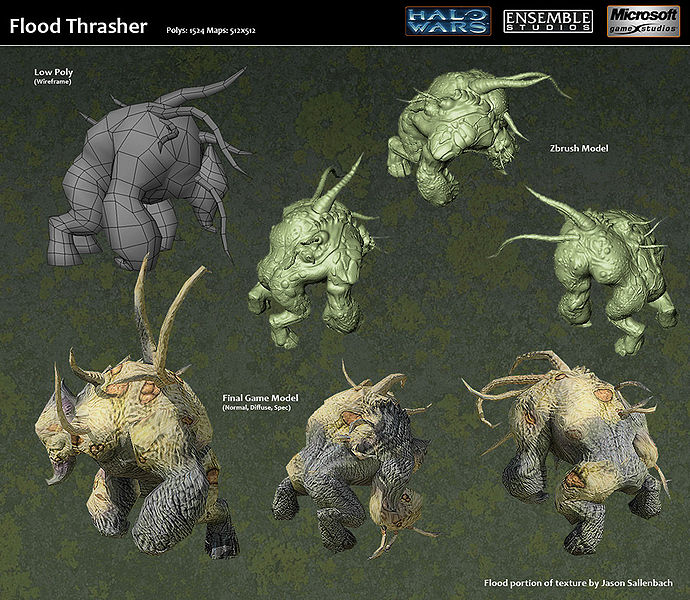 halo wars flood thrasher form Halo Pinterest Thrasher - army form