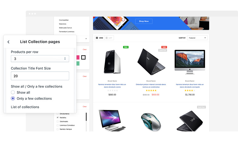 FlexyKart - Responsive Supermarket Shopify Template - HaloThemes