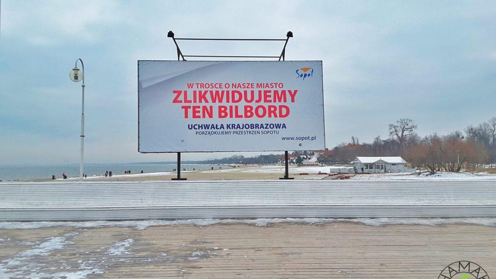 Plaża w Sopocie oraz słuszna inicjatywa estetyczna