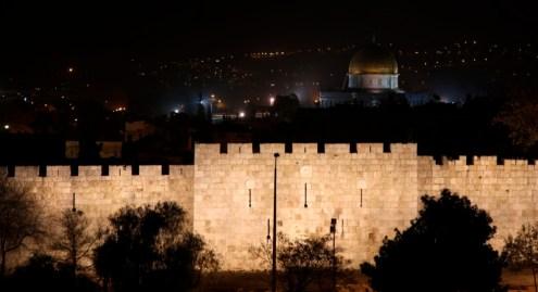 Ночной Иерусалим