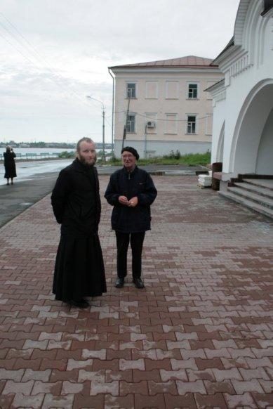 Отец Алексий и Александр Александрович