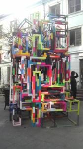 Kunstwerk im Gängeviertel