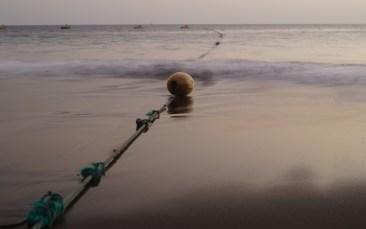 Foto Langzeitbelichtung Boje in Wasser