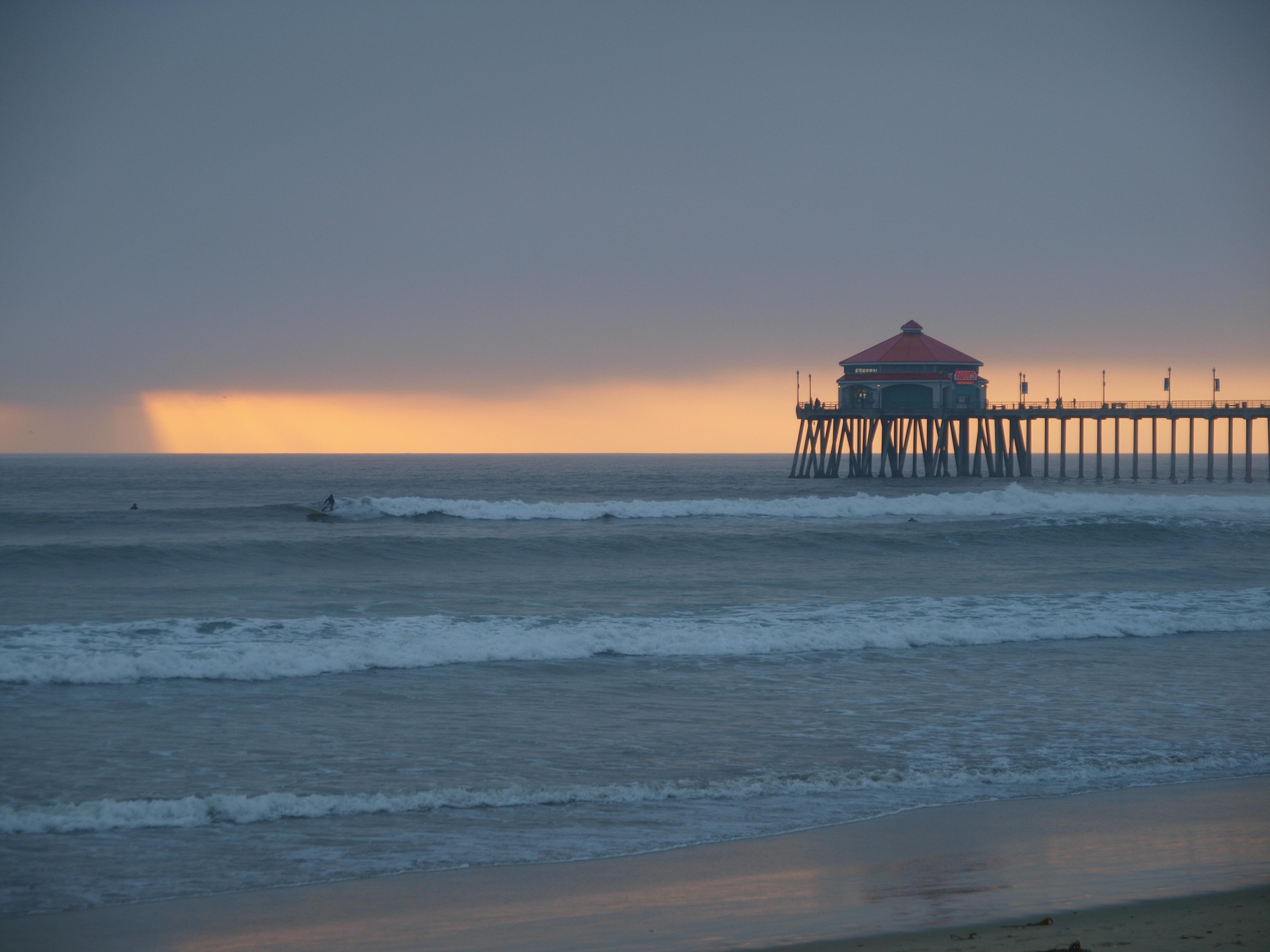 Beach With Quote Desktop Wallpaper Sunset At Newport Beach Hamell Net