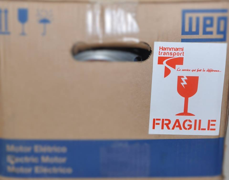 colis fragile