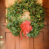 A Mistimed Christmas Wreath