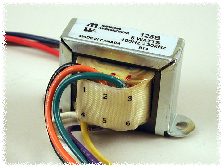 Hammond Mfg - Universal Tube Output - Push-Pull Transformers - (125