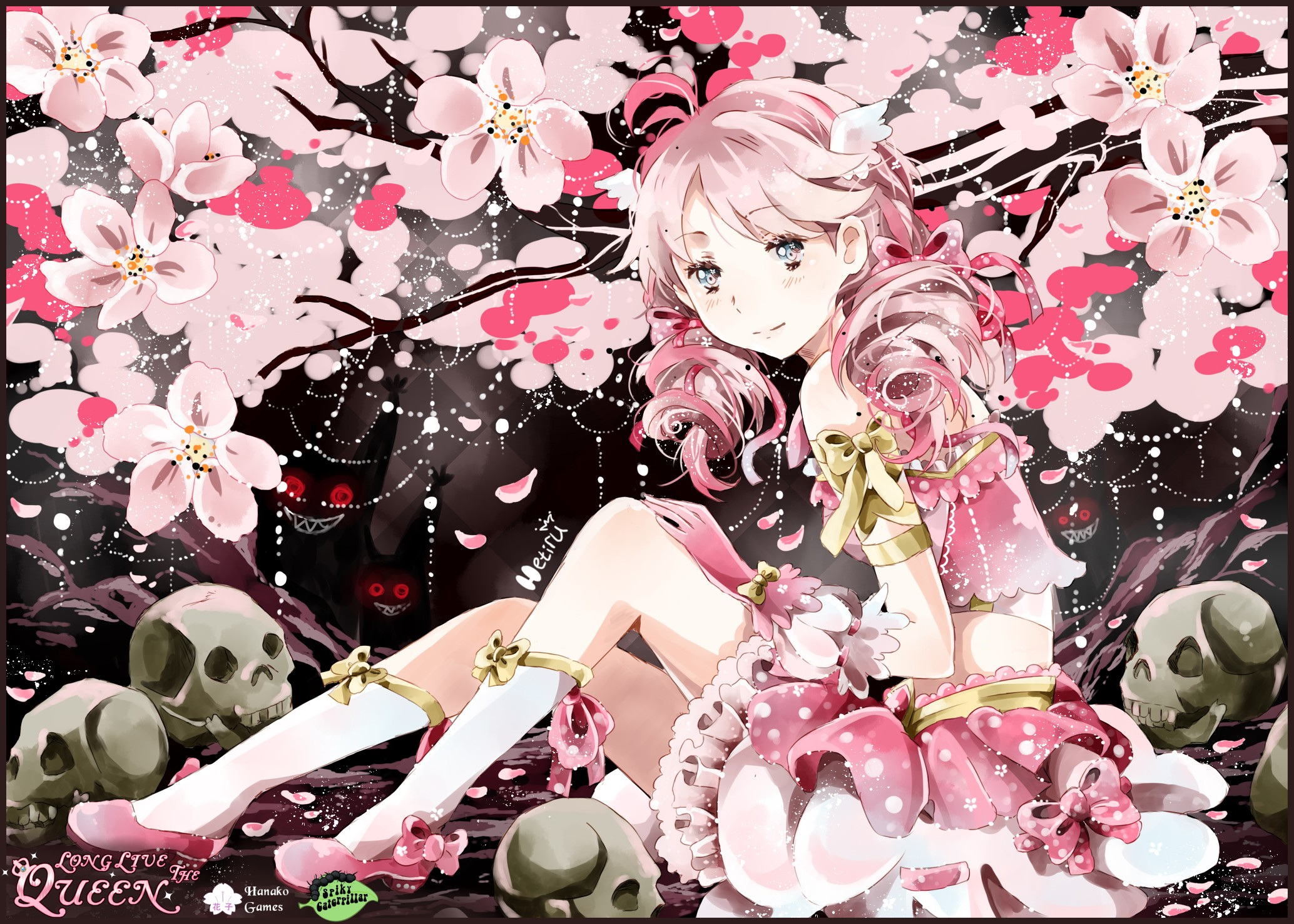 Political Anime Girl Wallpaper Rule The World Or Die Trying Long Live The Queen Sim Game