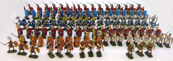 Hand Painted Miniature Soldiers For Battlefield Or Collectors