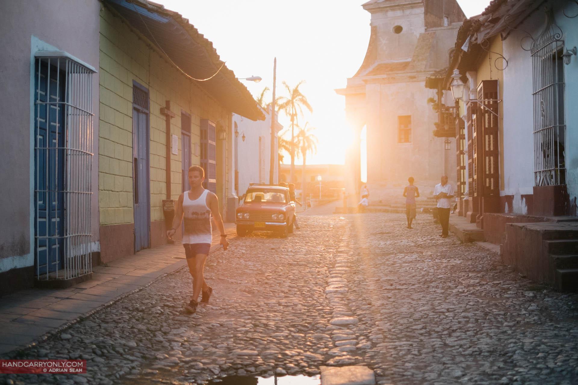 sun flare street trinidad cuba