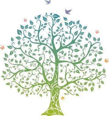 Wall Decal family-tree-designs-496145 \u2013 Handcut Designs - Chicago